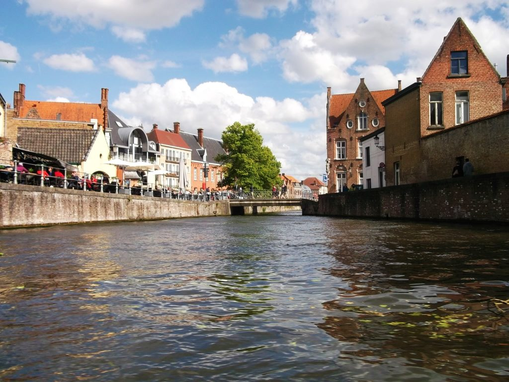 Canaux, Bruges