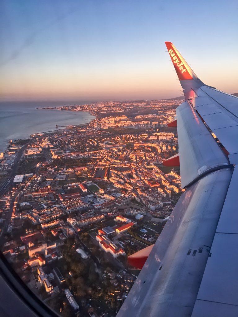 Lisbonne vue du ciel