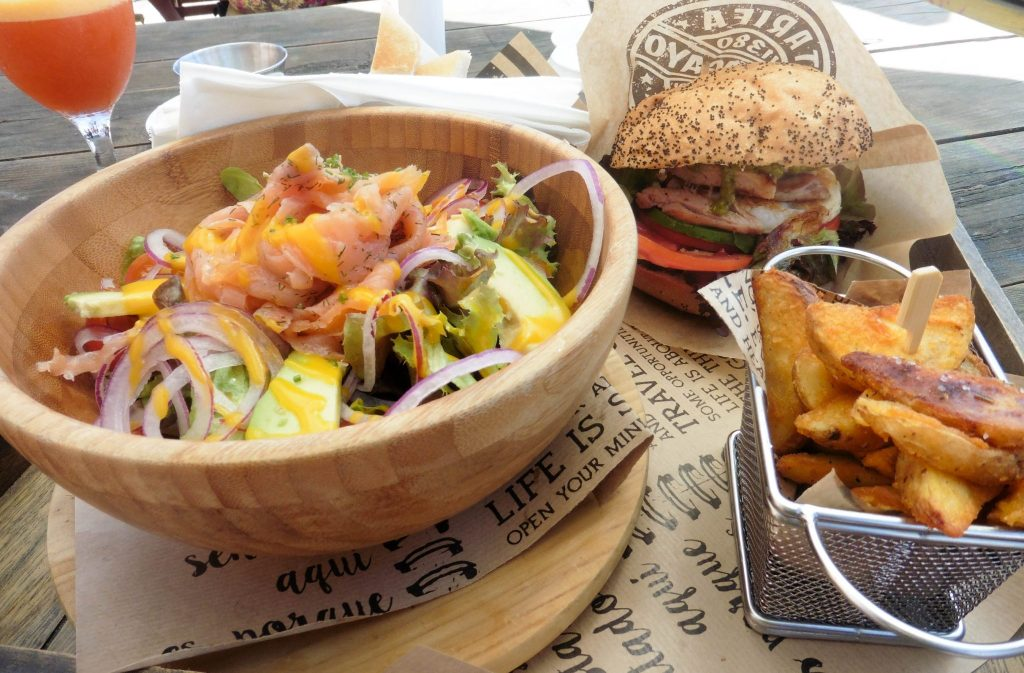 salade burger Papagayo