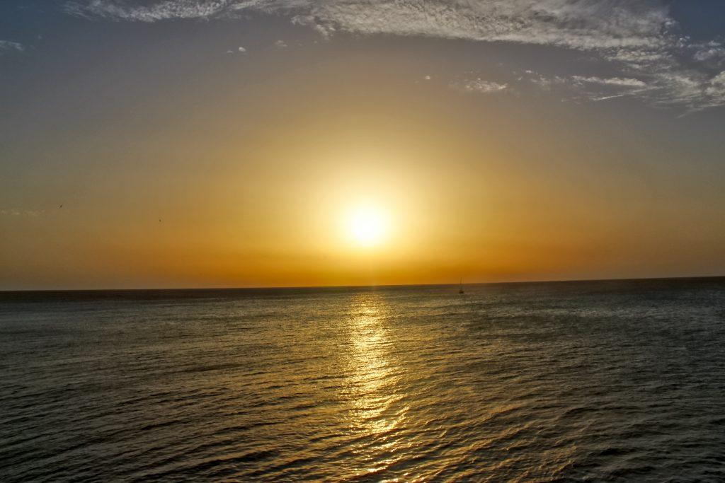coucher de soleil cadix
