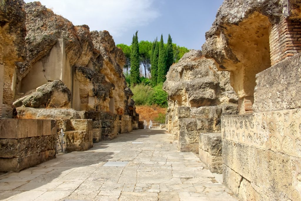 ruines italica