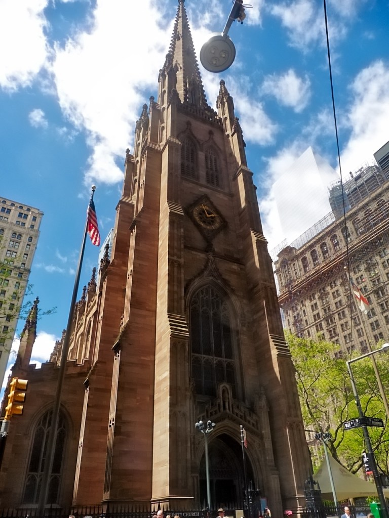 Financial District Trinity Church