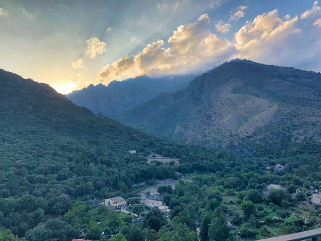 Vallée de la Restonica depuis Corte