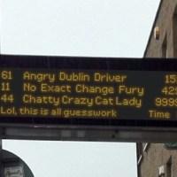 Dublińskie autobusy