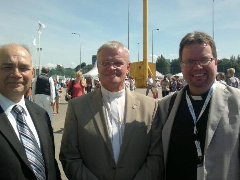 Viron ev.lut. kirkon arkkipiispa Andres Põder