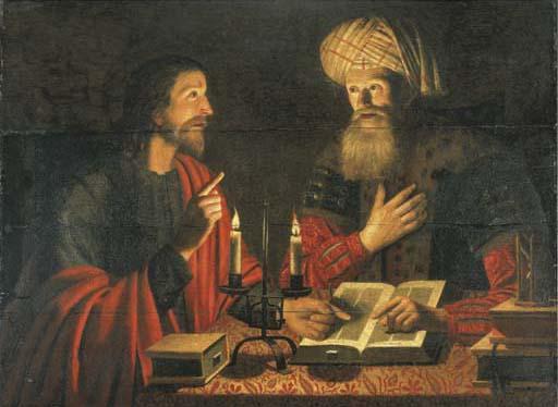 Uudestisyntyminen Jeesus ja Nikodemos