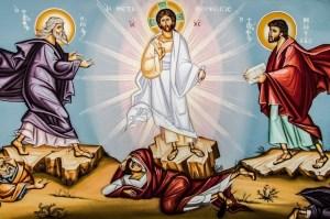 Jeesus kirkastusvuorella