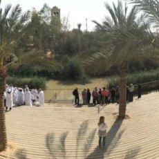Jeesuksen kastepaikka Israelissa