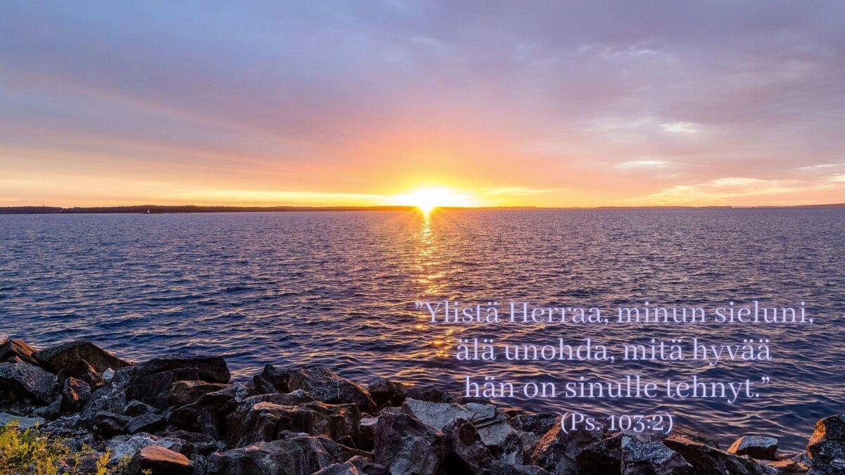 Psalmi 103 Ylistä Herraa