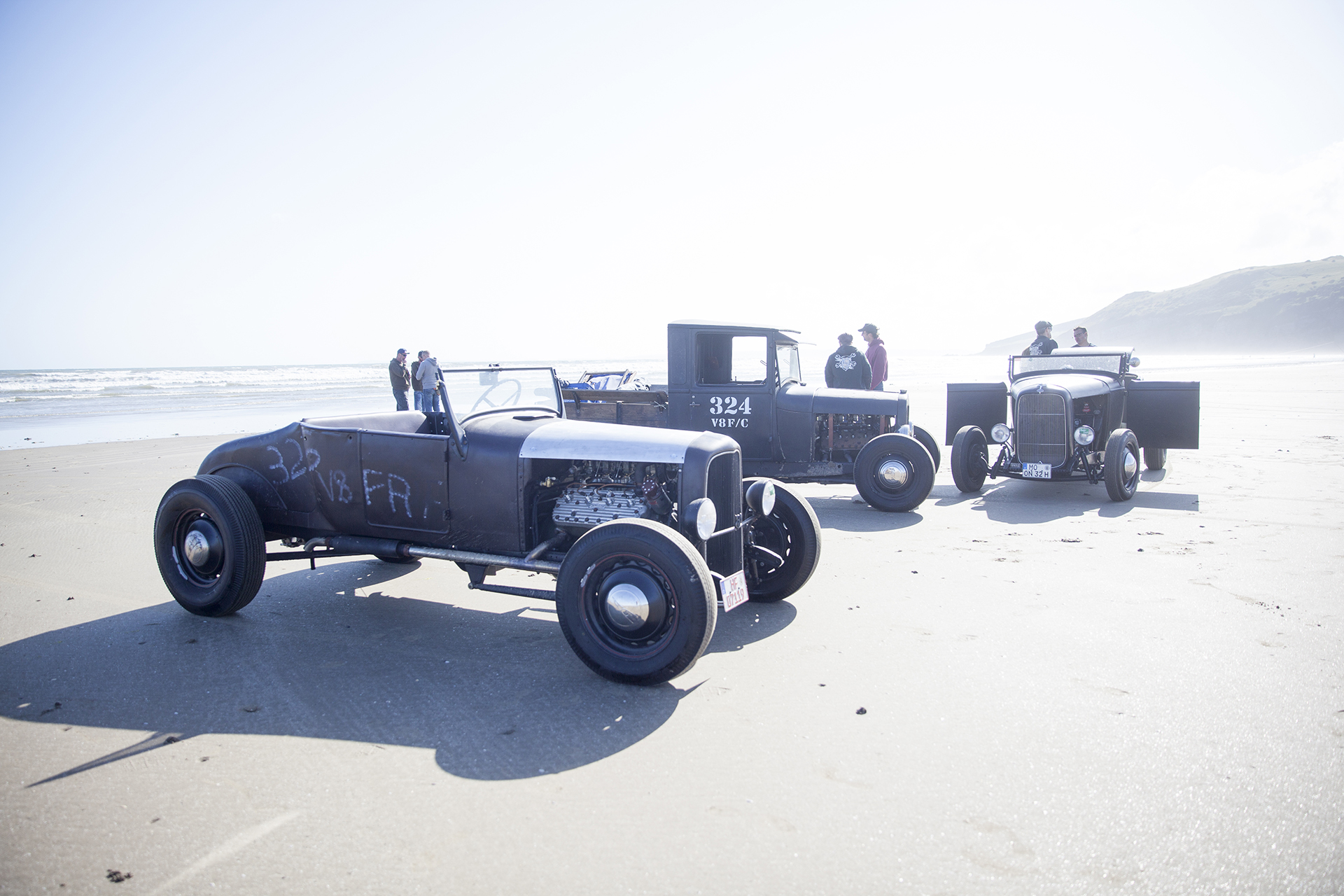 2015 VHRA Pendine Sands Hot Rod Races.