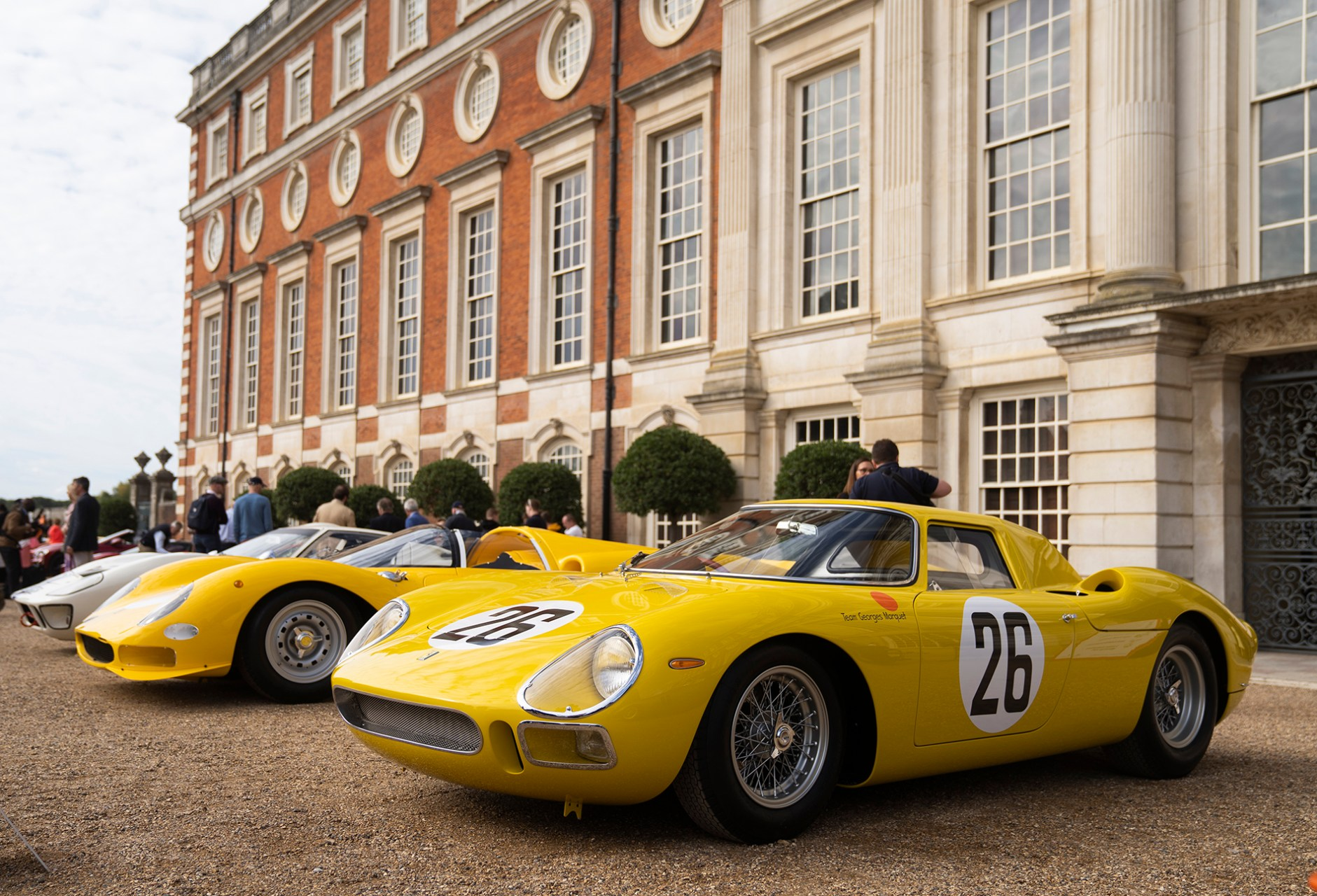 2020 Concours of Elegance at Hampton Court Palace
