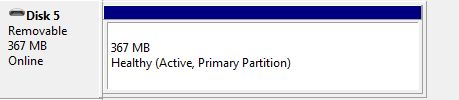 Partitions need to be deleted