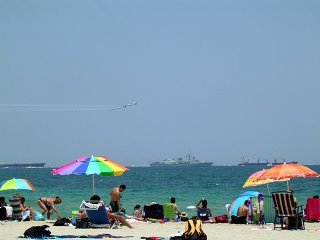 Canadian Snow Birds at the 2006 Fort Lauderdale Air and Sea Show