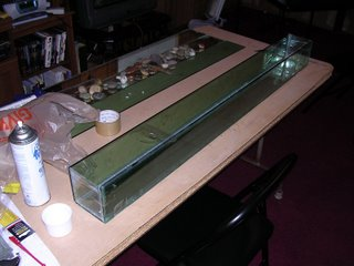 home made fish tank