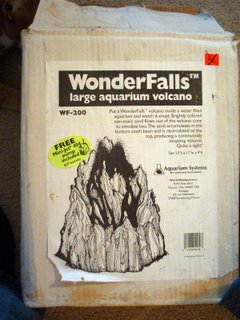 Wonderfalls large aquarium volcano