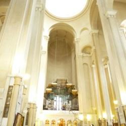 Inside Tsminda Sameba cathedral