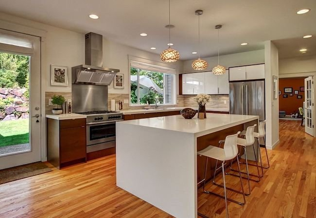 Island Features - Trending in Kitchen Design | Mike Blake ... on Modern:0Bjn4Cem9Be= Kitchen Counter  id=49481