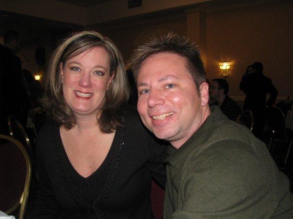 My boss Dan and his wife Erin