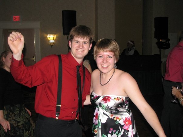 Another one of my engineers - Flip - and his gf Rachel