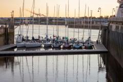 Boats Docked in Saint John Harbour Photograph