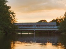 Bridge in Darlings Island Iphone Photograph