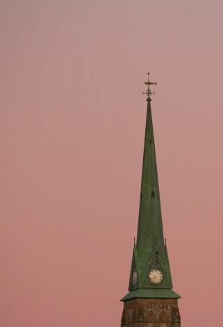 Church Steeple Saint John Photograph
