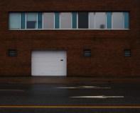 Garage Door Entrance on Water Street Saint John Photograph