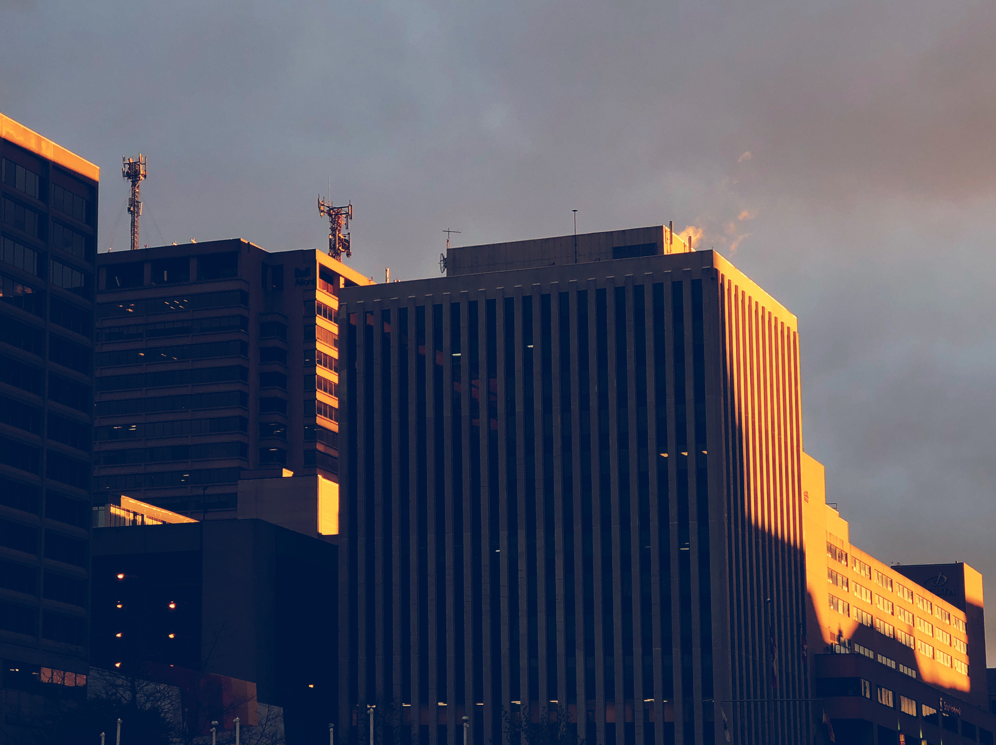 A photograph depicting King Street Buildings Saint John