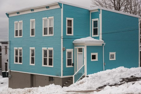 A photo of Old Blue Home in Saint John Photograph