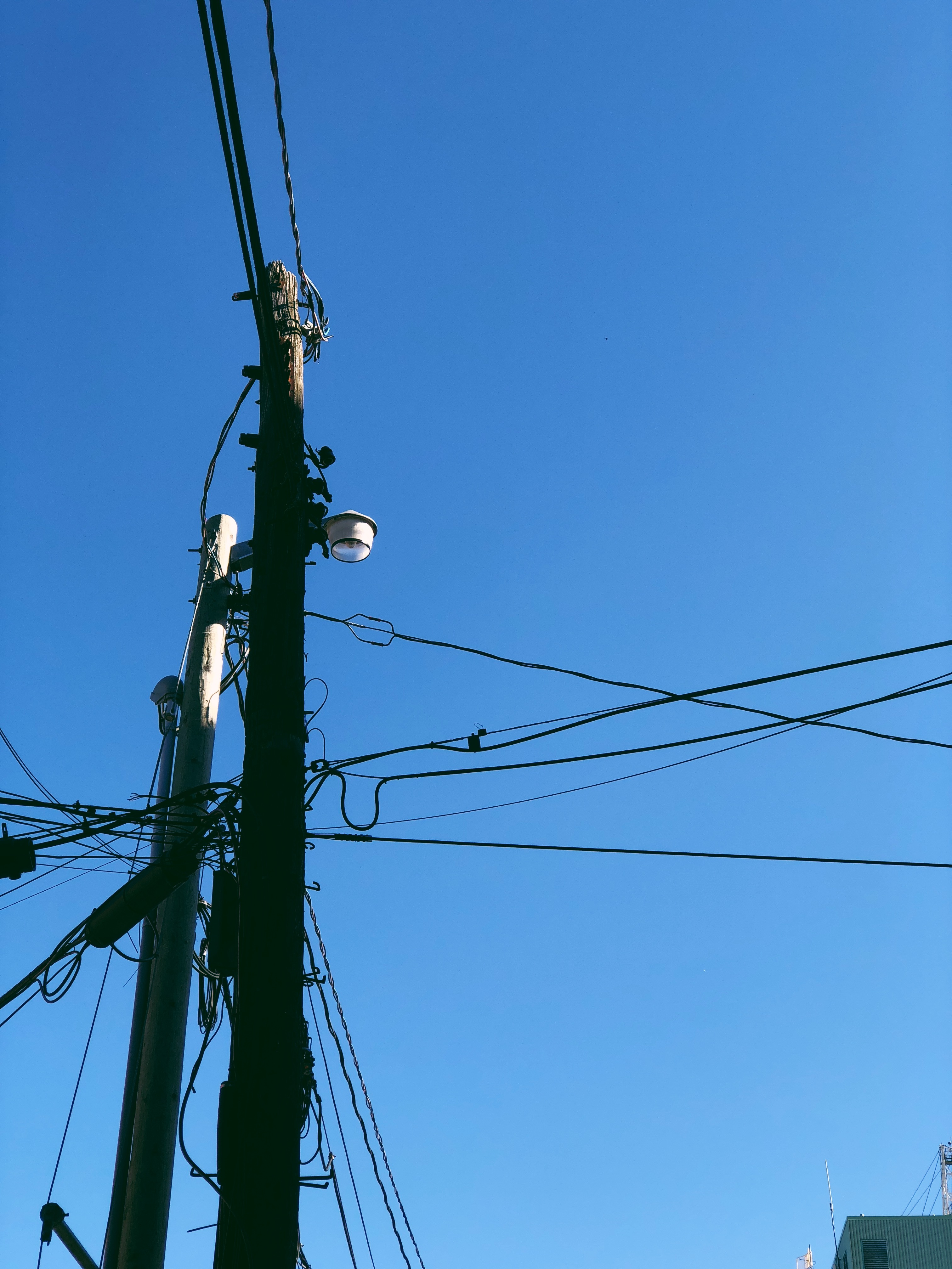 A photograph depicting Power Lines on Canterbury Street
