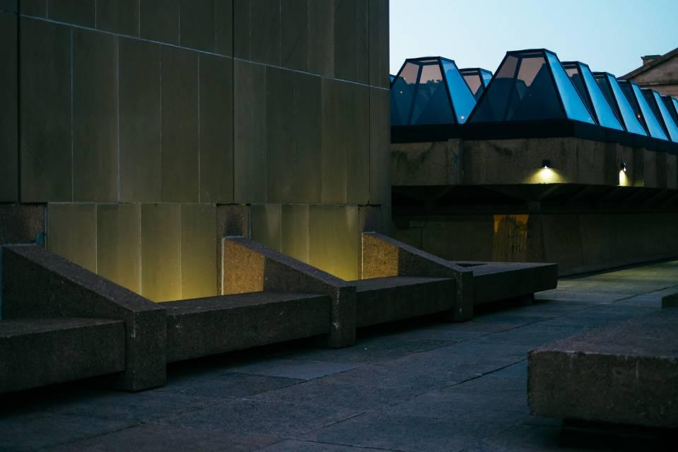 A photo of Prince Edward Island Stock Photo Confederation Centre Of The Arts Side Shot Stock Photo