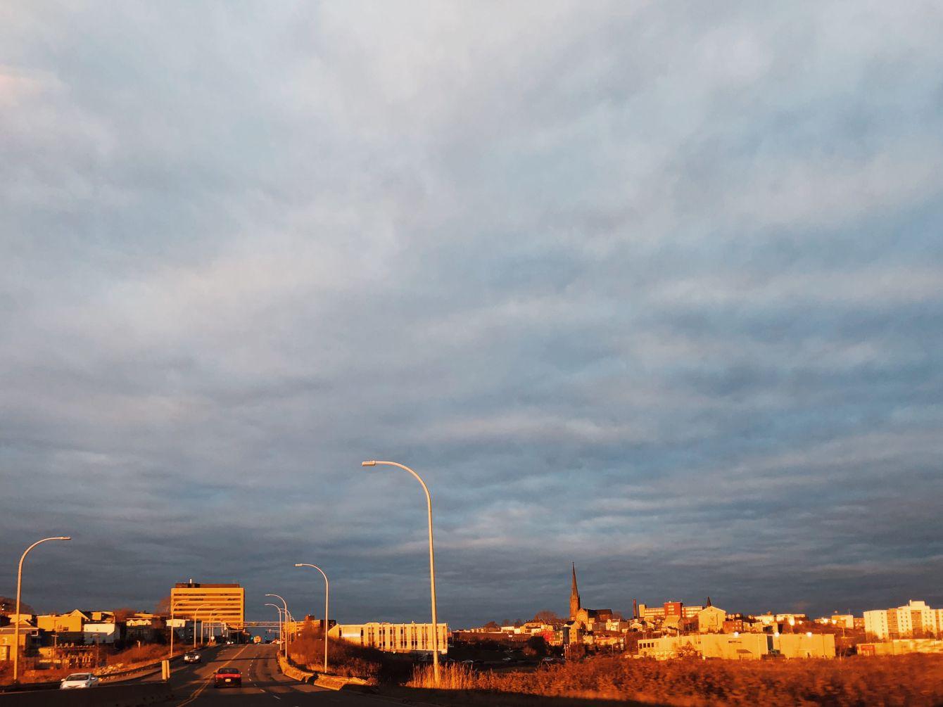 Click thumbnail to see details about photo - Saint John Causeway Golden Hour Photograph