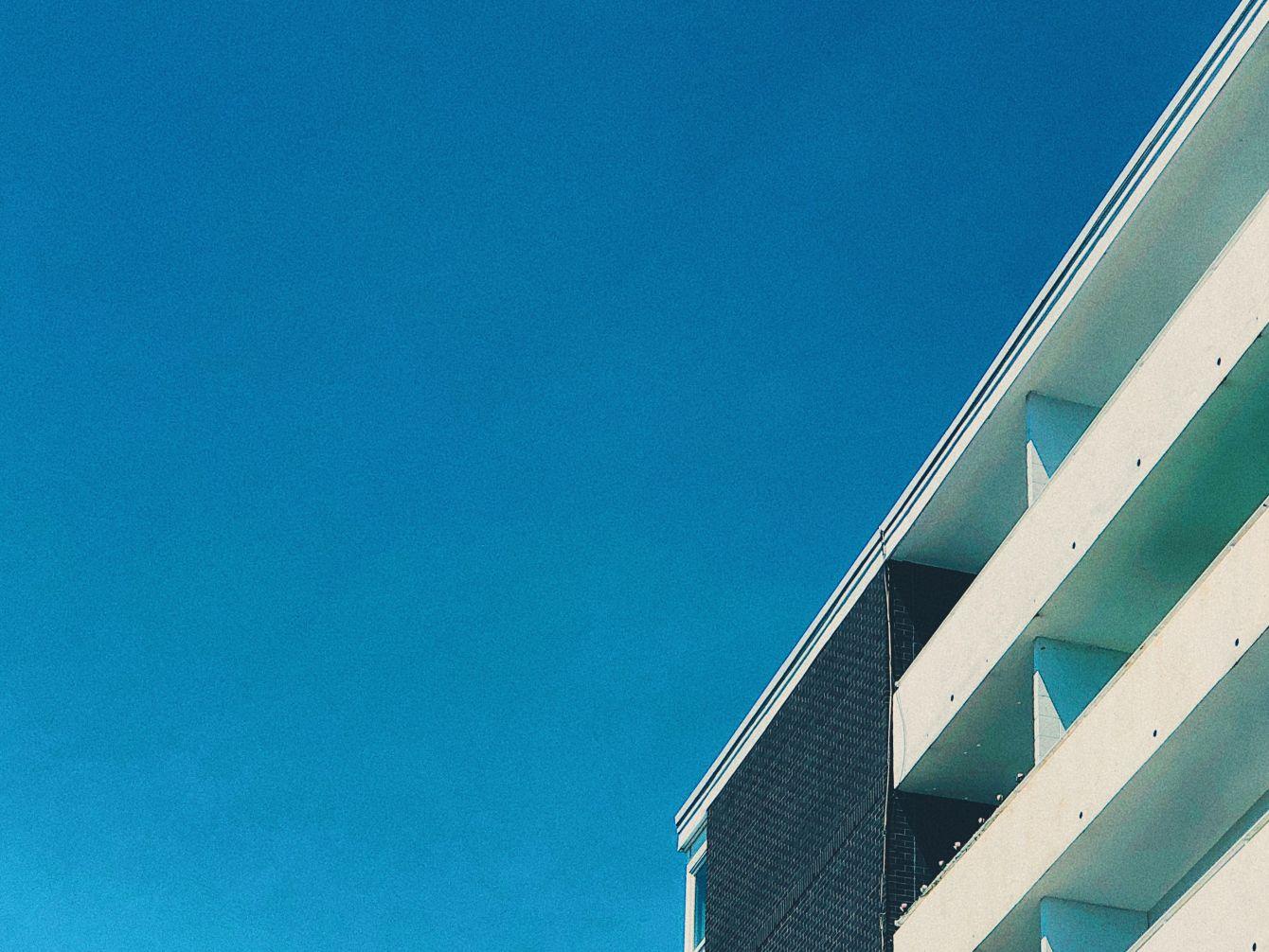 Click thumbnail to see details about photo - Saint John Apartment Building Edge Photograph