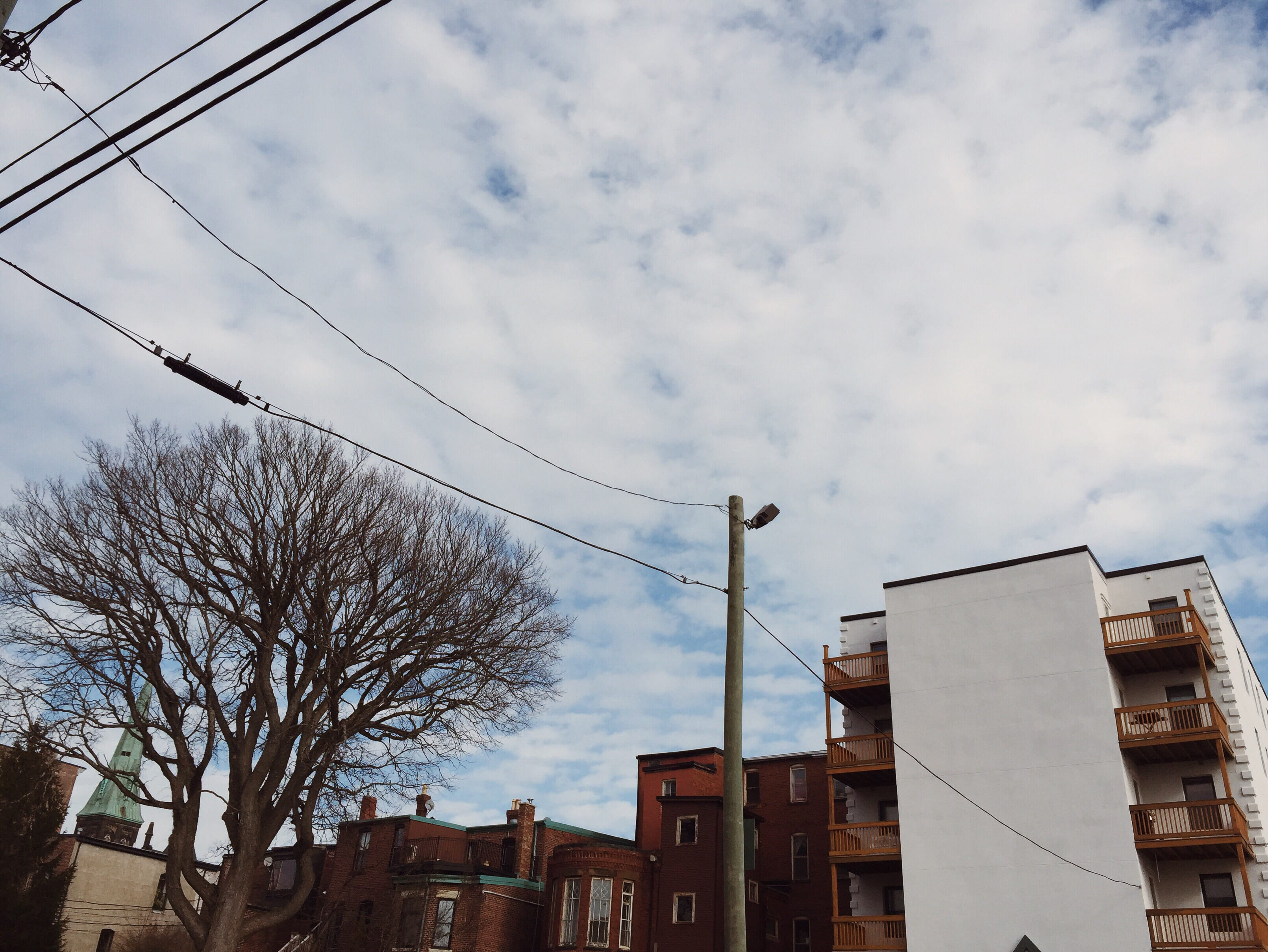A photograph depicting Canterbury Street Power Lines