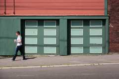 Double Garage on Charlotte Street Photograph