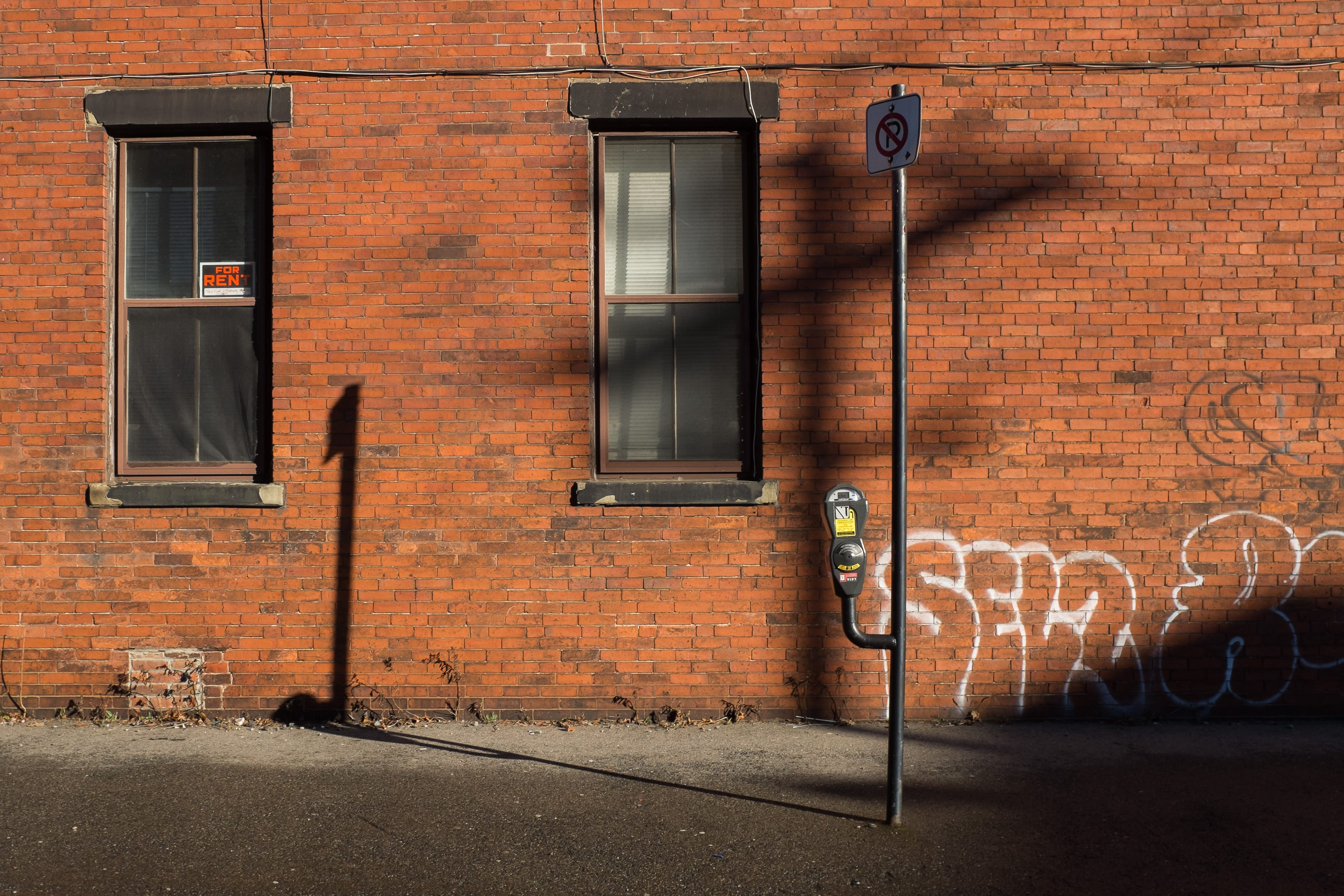 A photograph depicting Hard and Soft Shadows on Canterbury Street