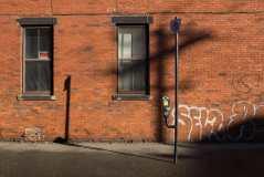 Hard and Soft Shadows on Canterbury Street Photograph