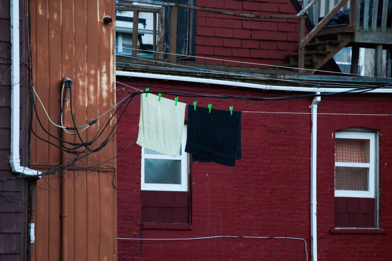 Click thumbnail to see details about photo - Laundry Matt on Charlotte Street Photograph