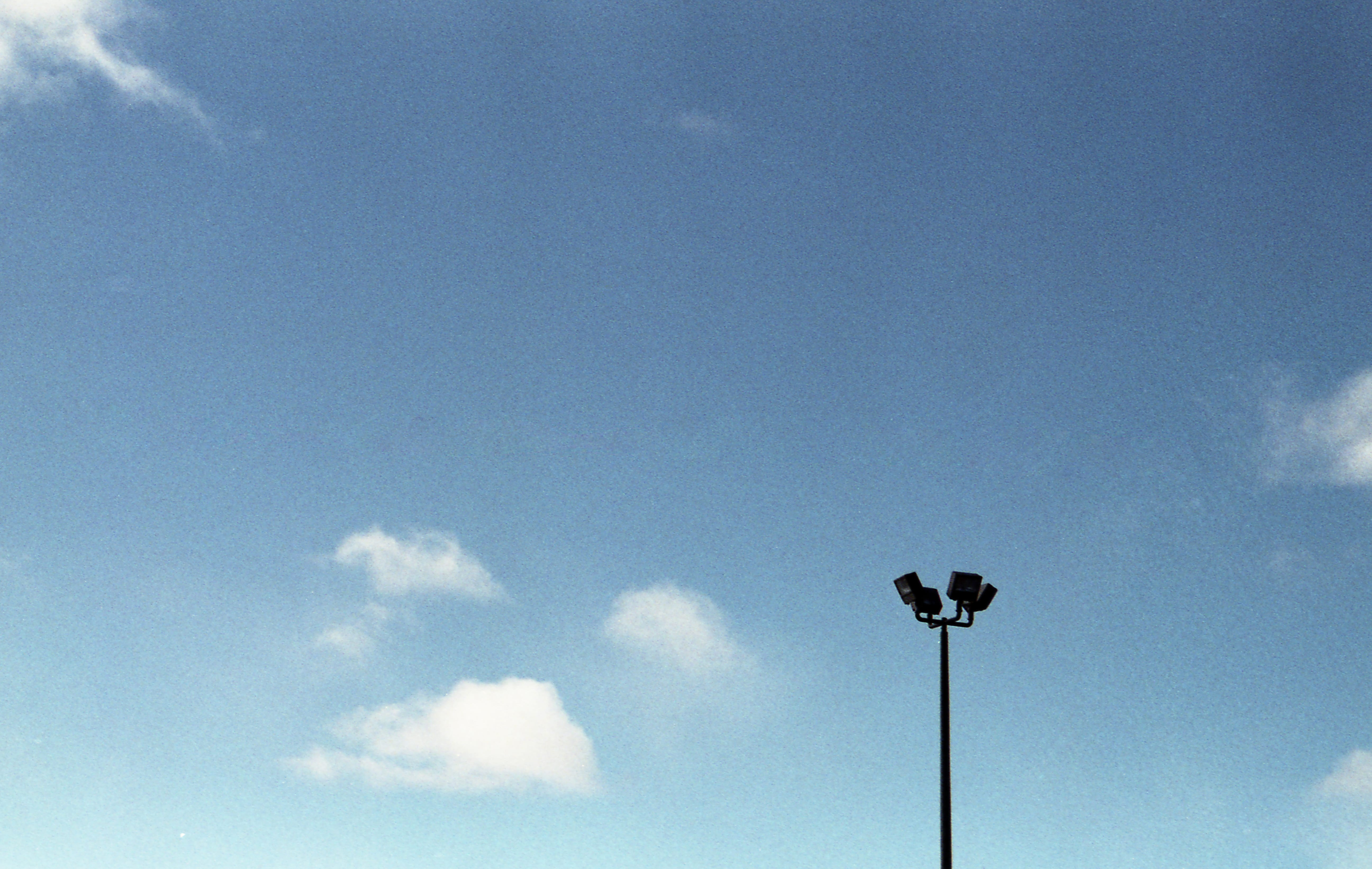 A photograph depicting Parking Lot Lights Saint John