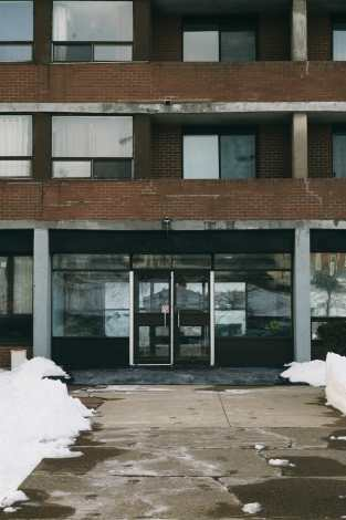 Prince Edward Square Apartments Entrance Photograph