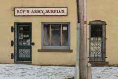 Roys Army Surplus Entrance Saint John Photograph