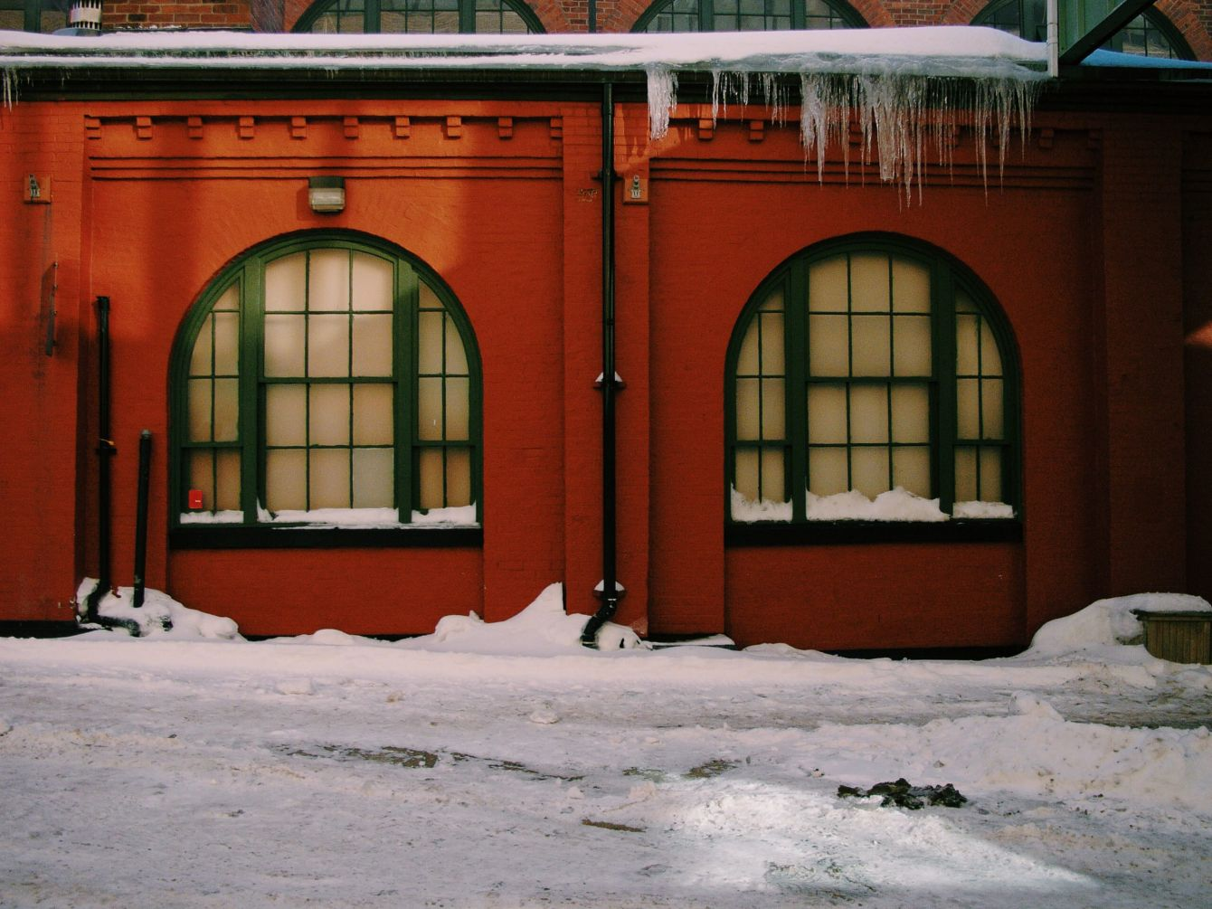 Click thumbnail to see details about photo - Saint John Market Icecicles Photograph