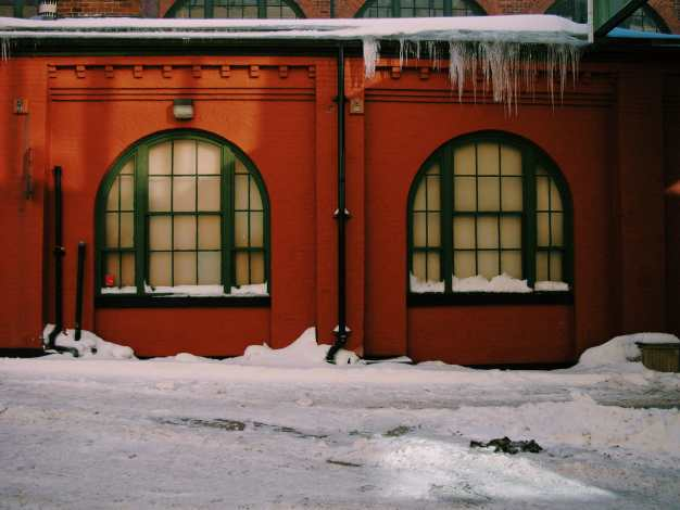 Saint John Market Icecicles Photograph
