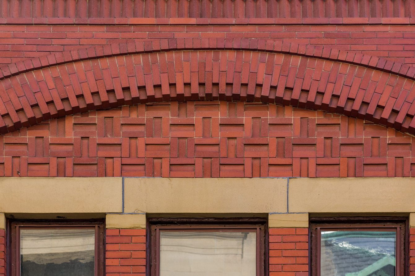 Click thumbnail to see details about photo - Saint John Vintage Architecture Facade Details Photograph