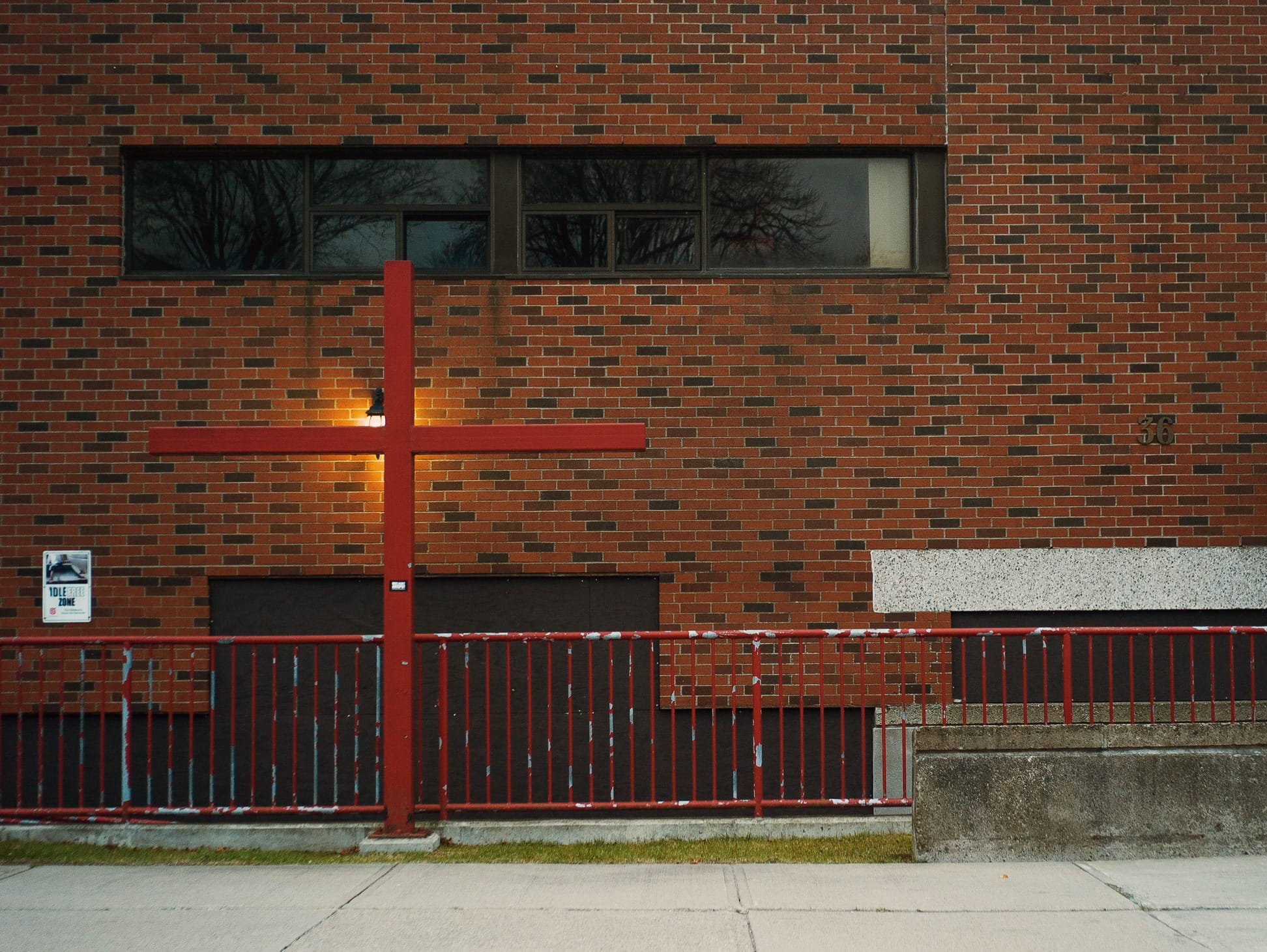 A photograph depicting Salvation Army Cross