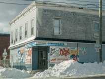 South End Convenience in Winter Saint John Photograph