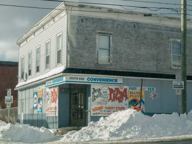 South End Convenience in Winter Saint John Photograph