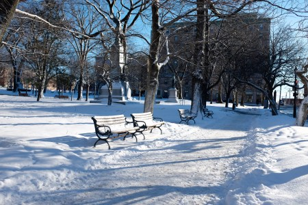 A photo of Snowy Kings Square Photograph