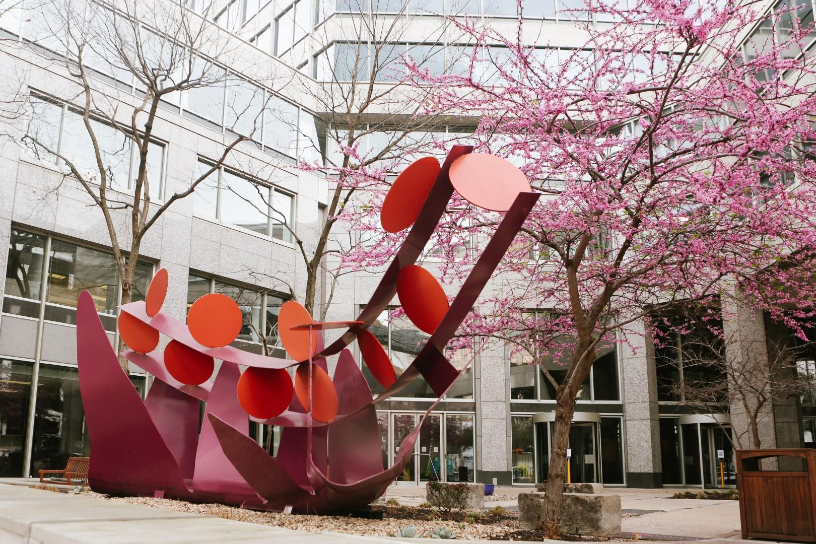 A photo of Austin Texas Art Sculpture