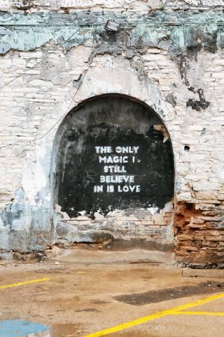 A photo of Austin Texas Love Wall Art